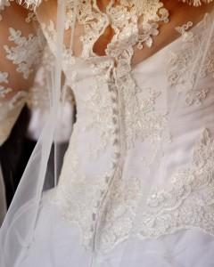 abito da sposa ecosotenibile