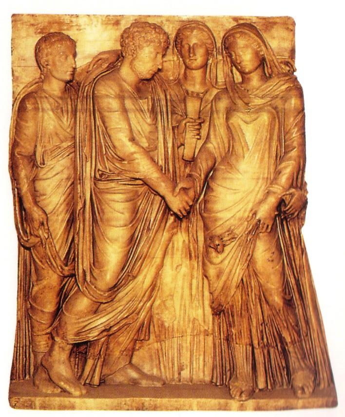 Matrimonio Direito Romano : Matrimonio romano un giorno una vita