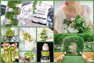 verde smeraldo matrimonio