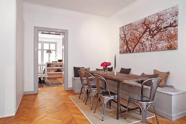 La casa degli sposi: la sala da pranzo