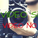 Video sì o Video no: le opinioni delle Spose