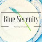 Il Blue Serenity è il nuovo colore per i Matrimoni 2016