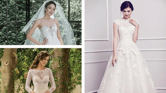 gli abiti da sposa più condivisi dell'anno