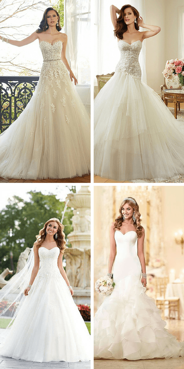 abiti da sposa più condivisi dell'anno