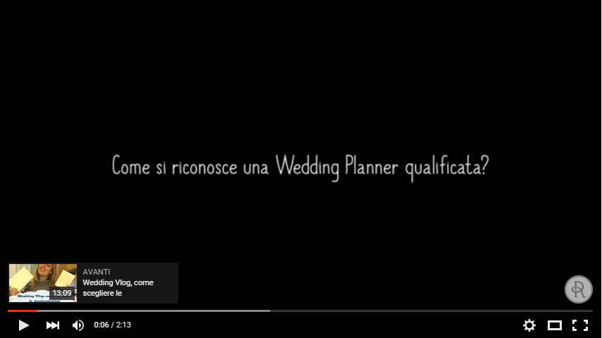 come si sceglie la wedding planner