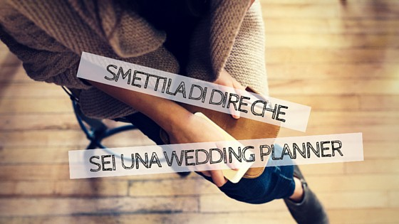 sei una wedding planner