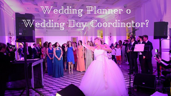 wedding day coordinator
