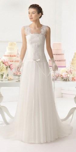 abito da sposa classico
