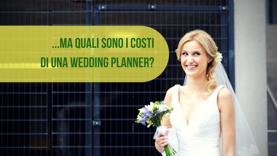 quali sono i costi di una wedding planner