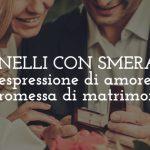 Gli anelli con smeraldo: espressione di amore e promessa di matrimonio