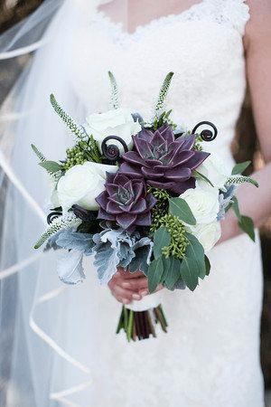 fiori per il matrimonio succulente