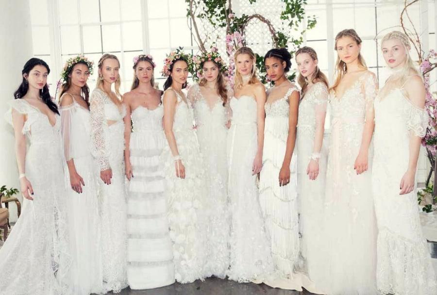tendenze moda abiti da sposa 2018