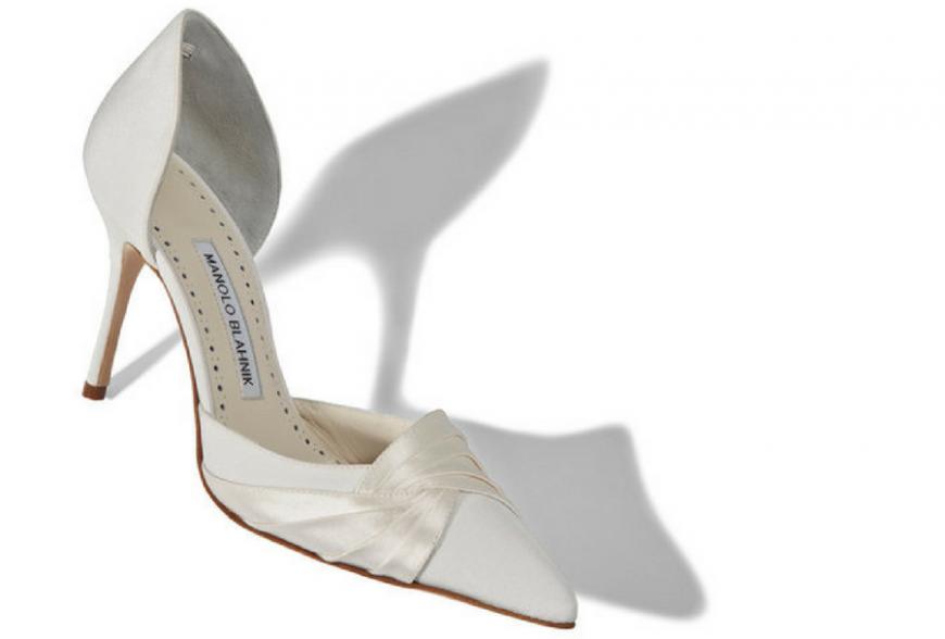 scarpe da sposa manolo blahnik