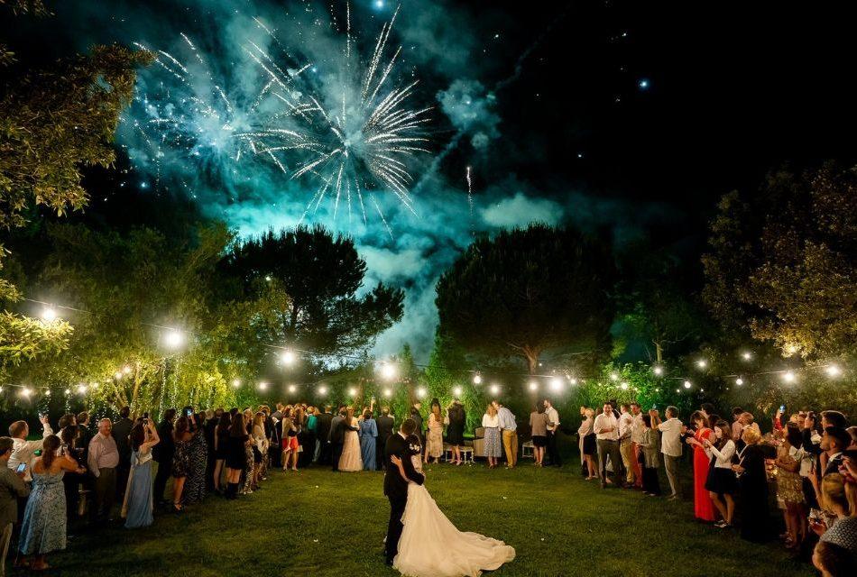 Fuochi d'artificio per matrimonio: tutto quello che c'è da sapere per il tuo giorno speciale!