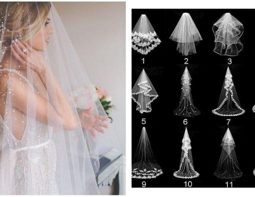 Velo da sposa: tipologie e consigli per scegliere quello giusto