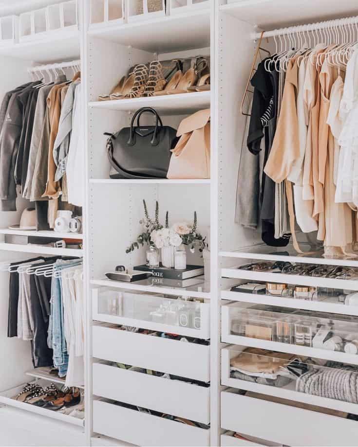 organizzare armadio