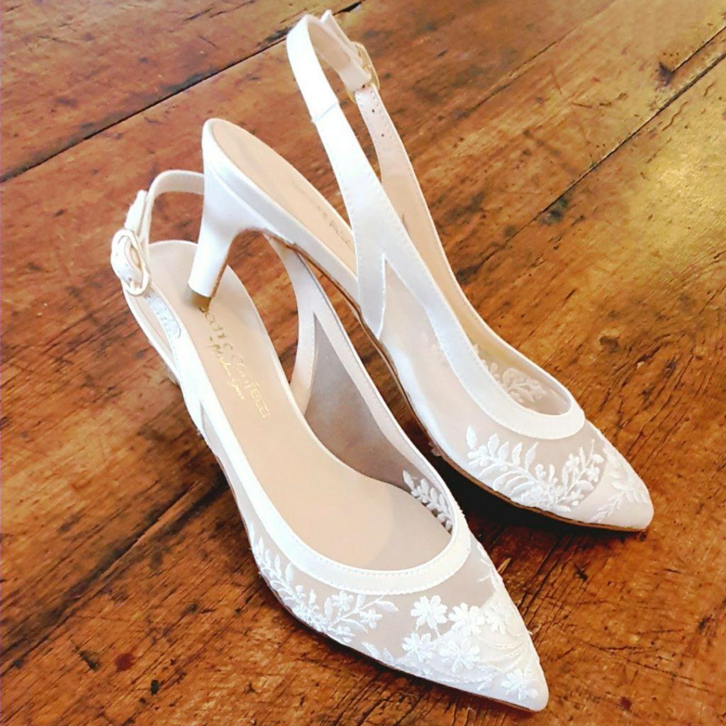 come abbinare scarpe e abito da sposa