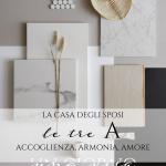 La casa degli sposi: le tre A dell'accoglienza secondo Elena Acconcia