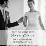 Abiti da sposa Rosa Clará 2022: stile minimalista per un matrimonio intimo