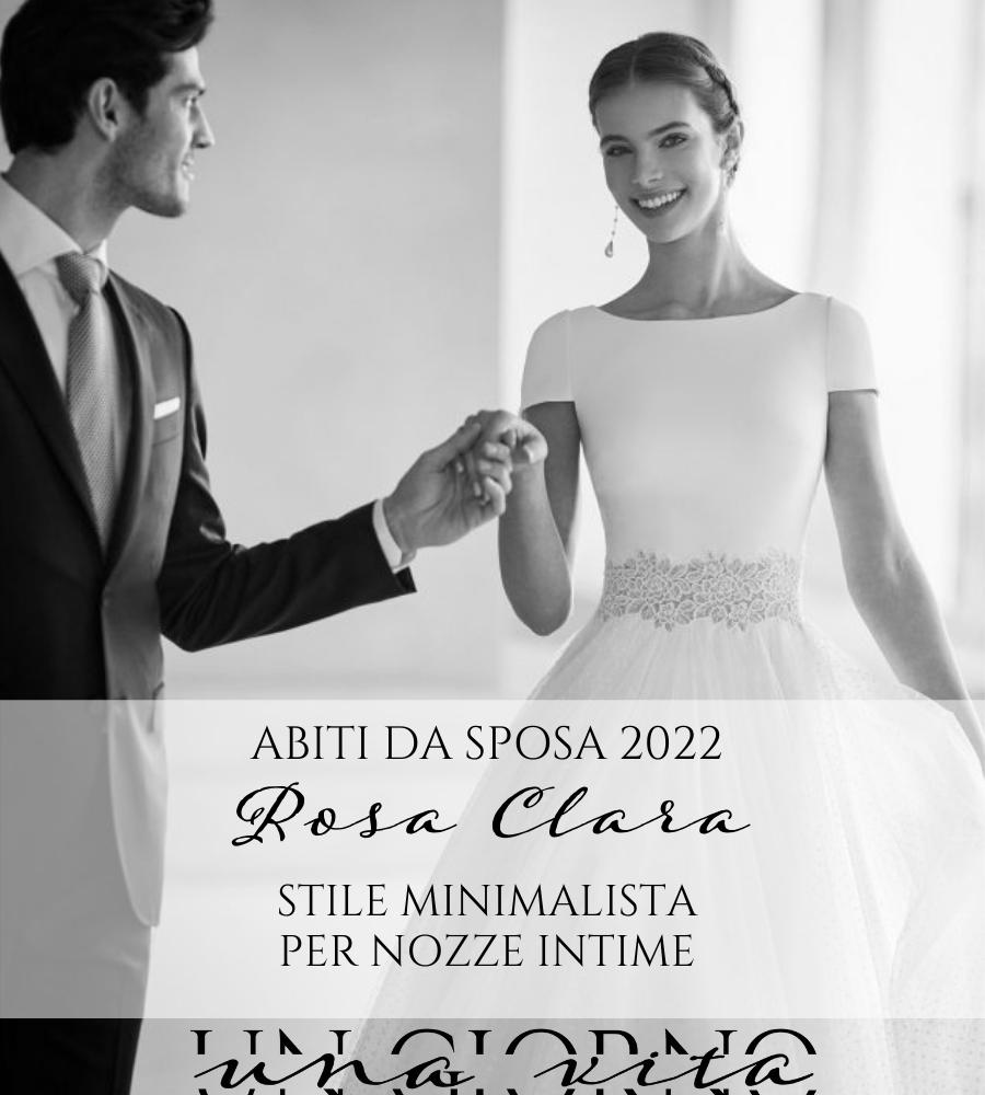 abiti da sposa rosa clará 2022