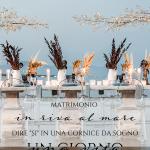 """Matrimonio in riva al mare: dire """"sì"""" in una cornice da sogno"""