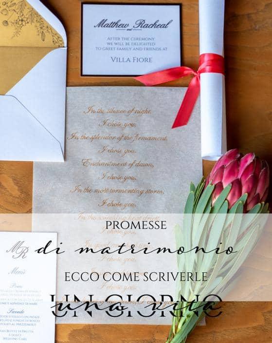 promesse di matrimonio