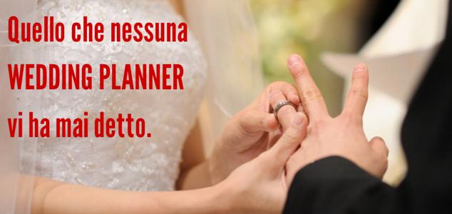 nessuna wedding planner