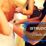 istruzioni per la madre della sposa