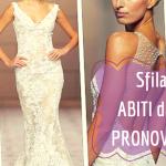 Sfilano gli abiti da sposa di Pronovias per il 2015