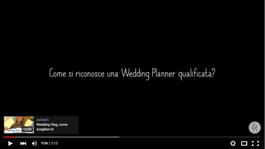 come si sceglie la wedding planner