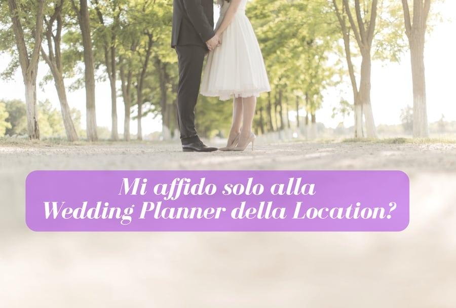 wedding planner della location