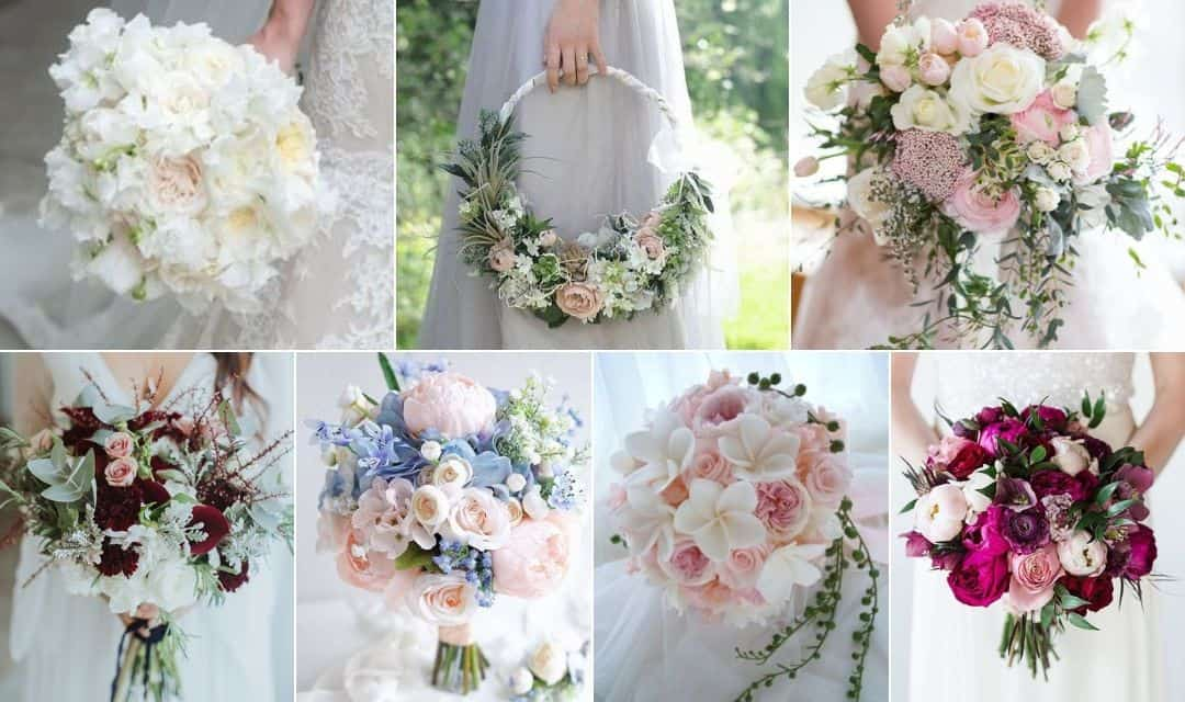 Bouquet sposa 2019: tendenze e stili per scegliere quello giusto