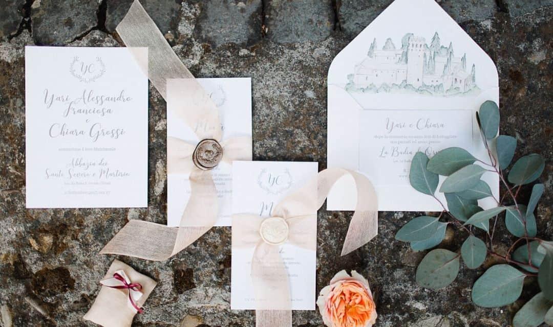 Wedding Stationery: tendenze e consigli dell'elemento più creativo delle nozze