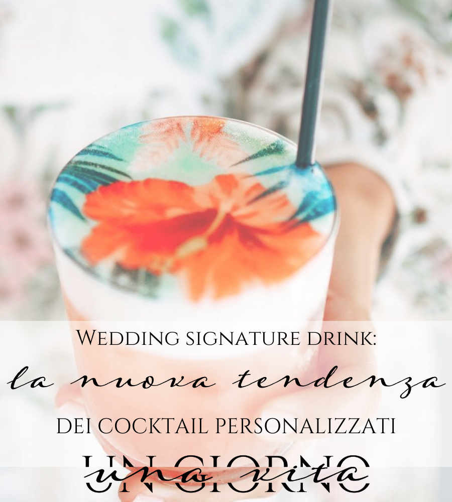 wedding signature drink
