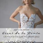 Abiti da sposa Oscar De La Renta: ricami 3D e pizzi per la collezione Spring 2022