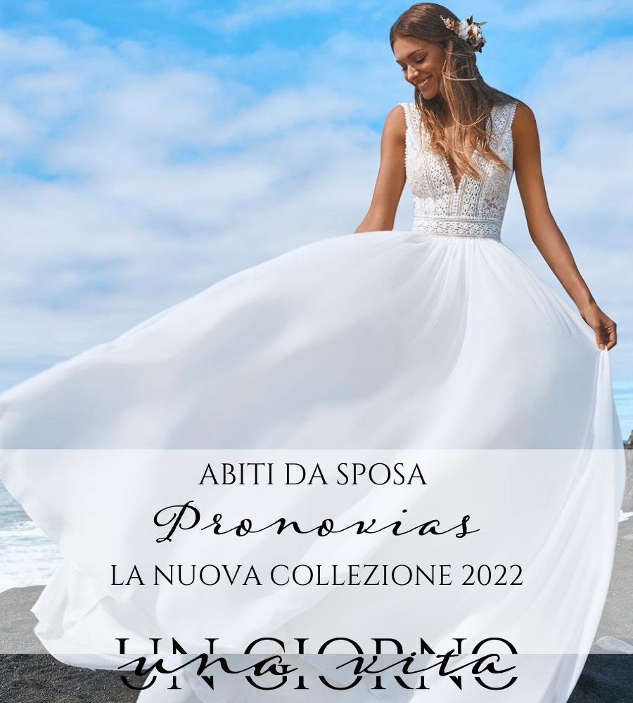 abiti da sposa Pronovias 2022